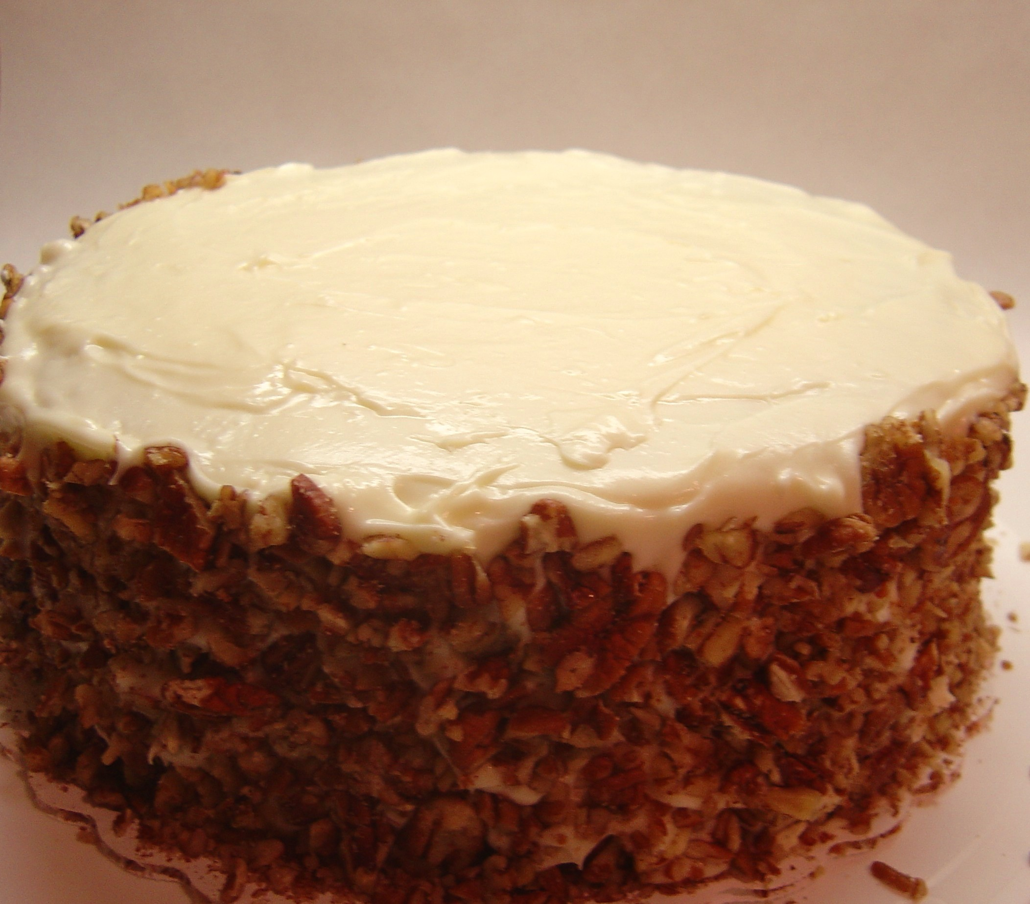 Blissfully Delicious: Carrot Cake With Cream Cheese Frosting