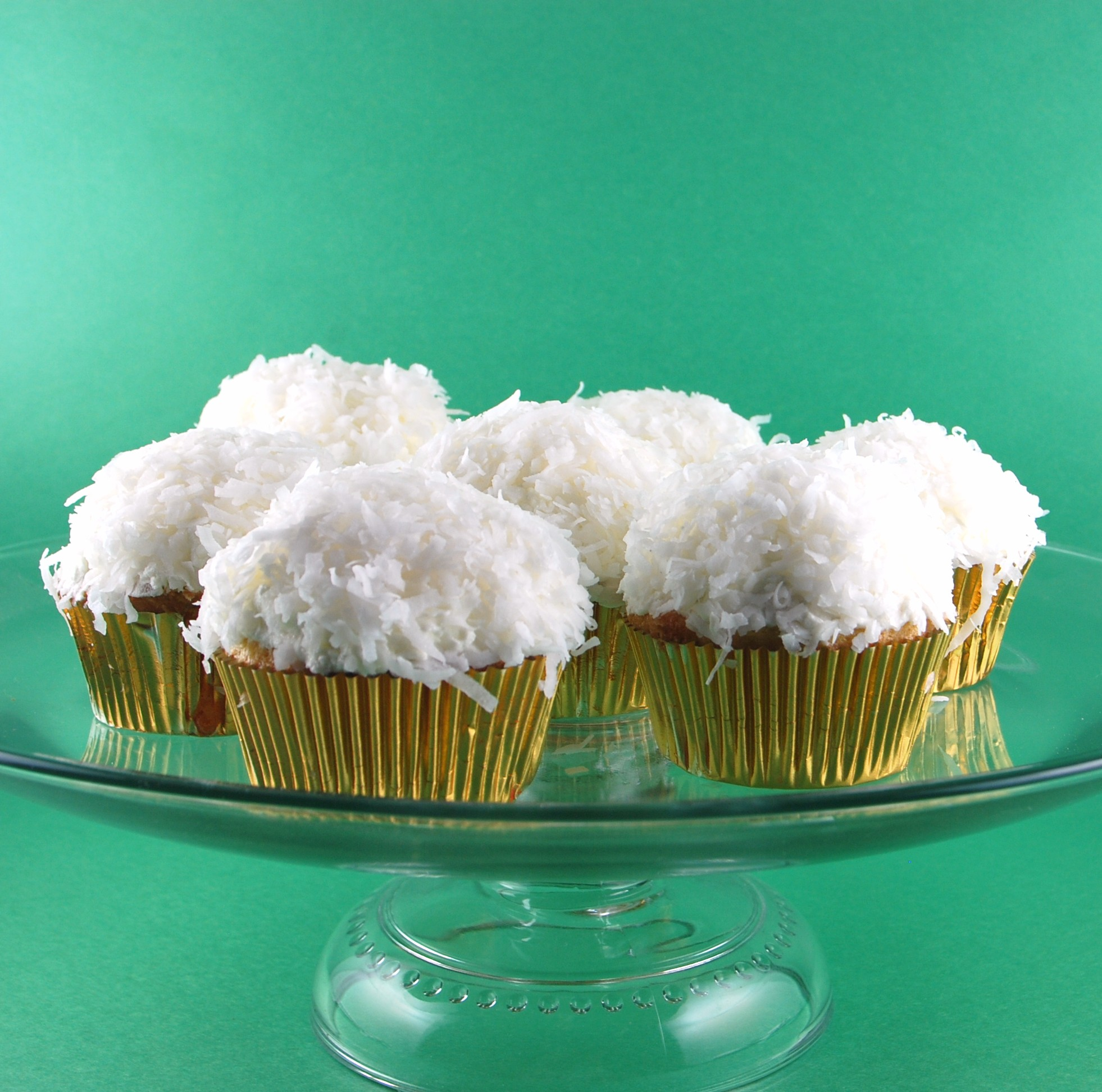 Blissfully Delicious: MSC: Coconut Cupcakes