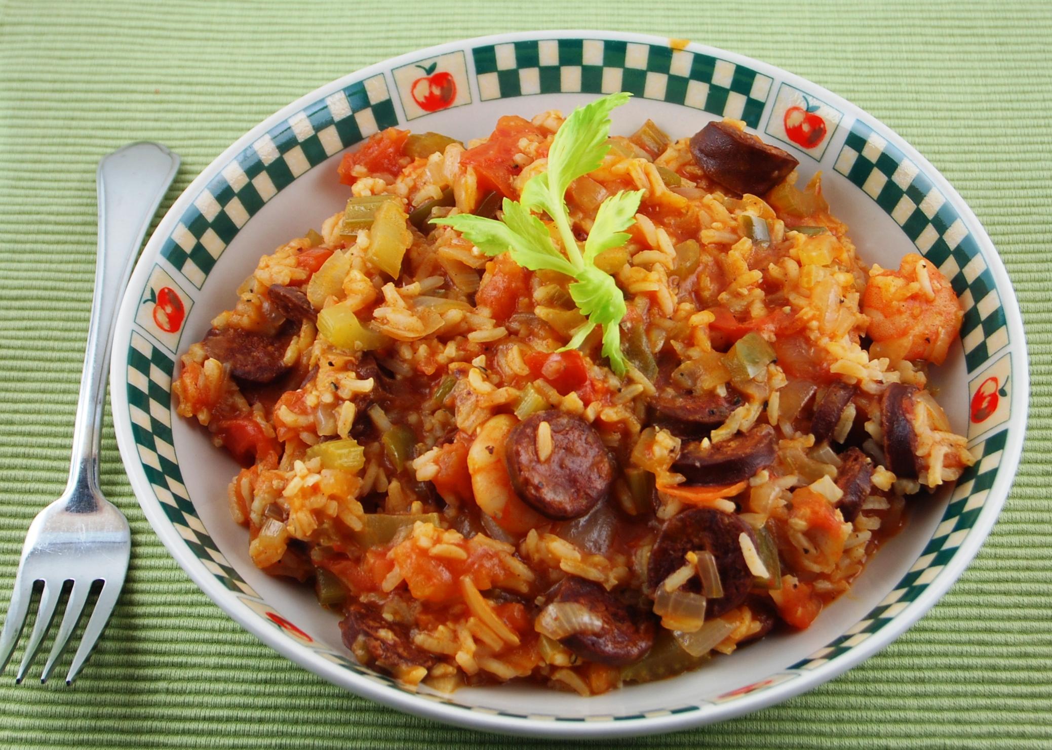 Shrimp Jambalaya | Blissfully Delicious
