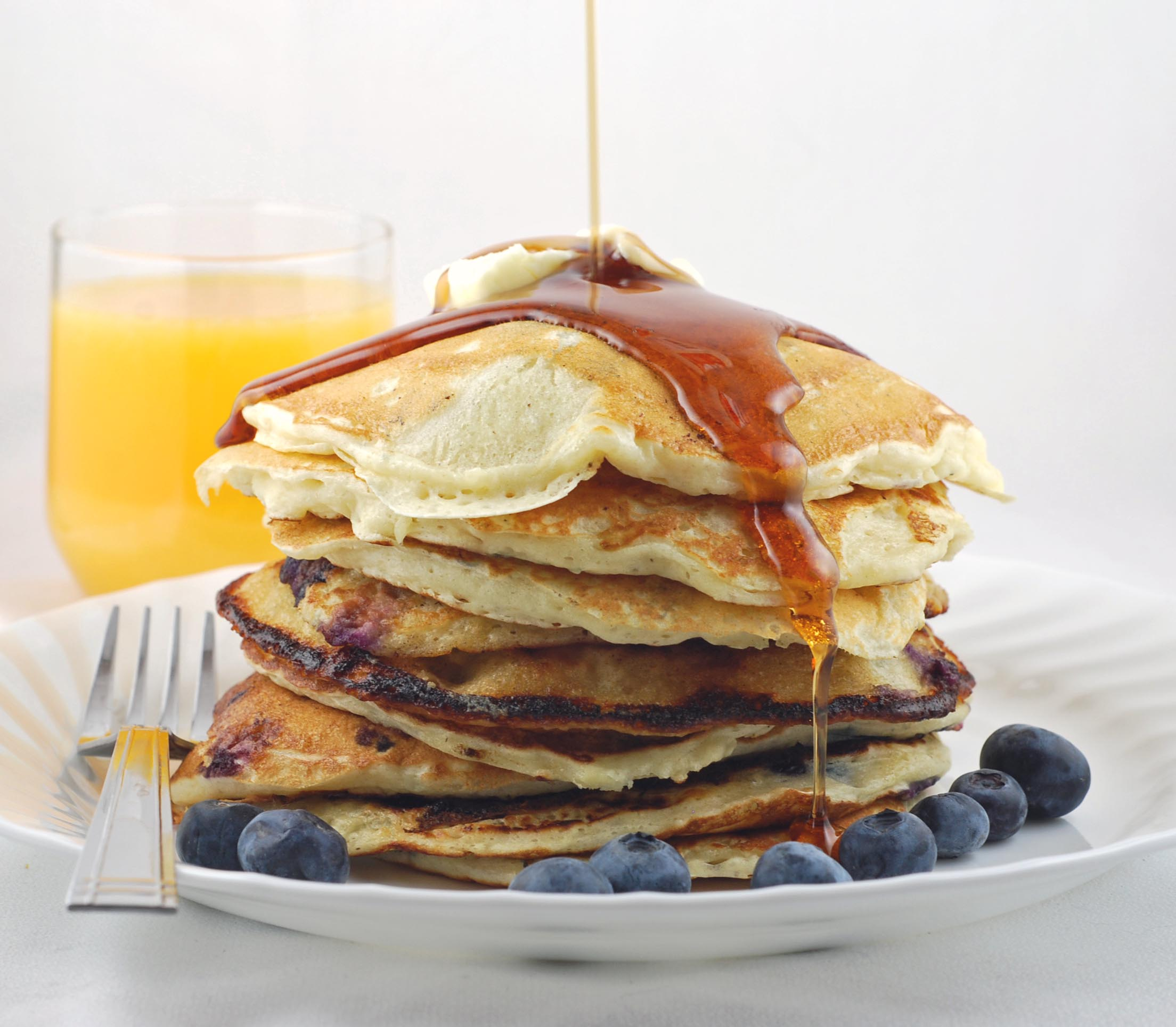 Blissfully Delicious: Best Buttermilk Pancakes