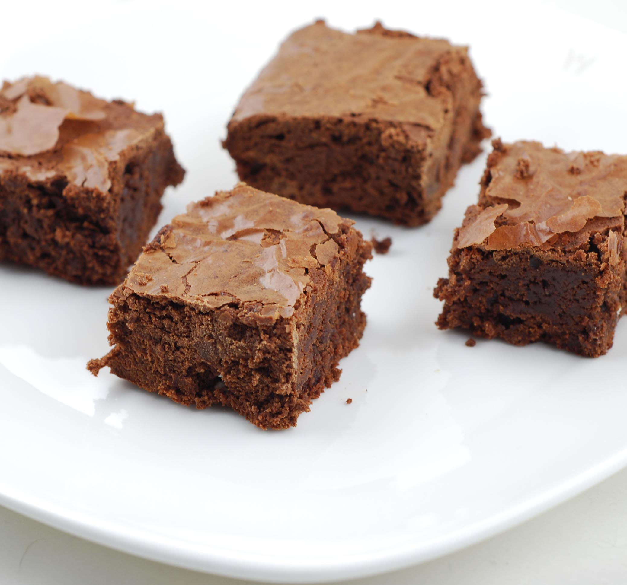 Blissfully Delicious: What's Baking: Triple-Chocolate Espresso Brownies